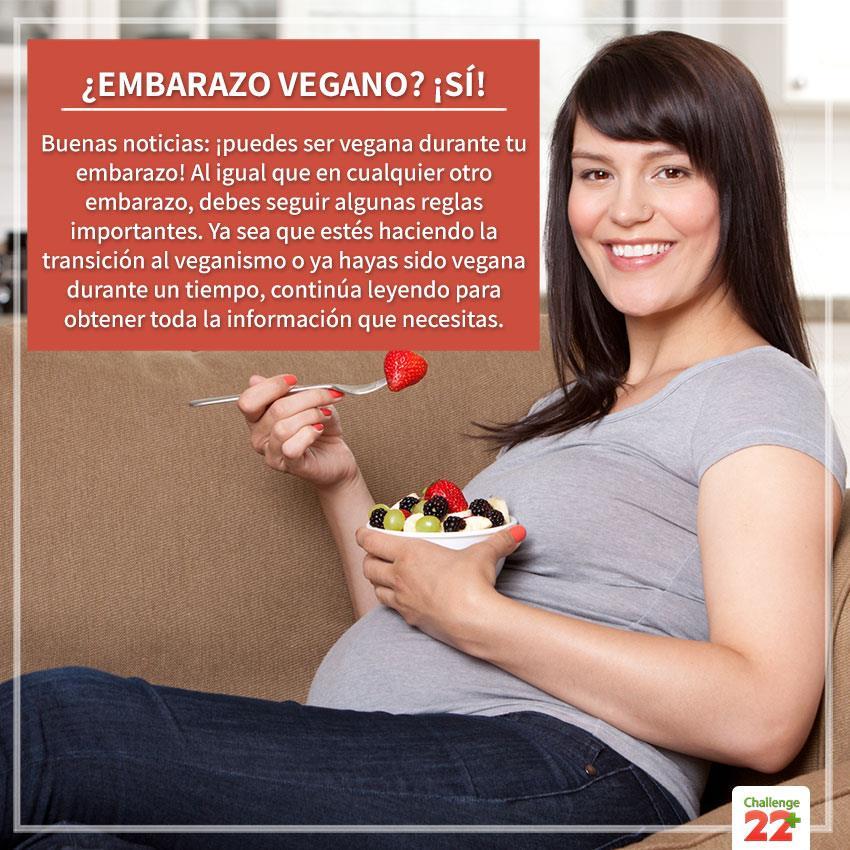 Embarazo vegano