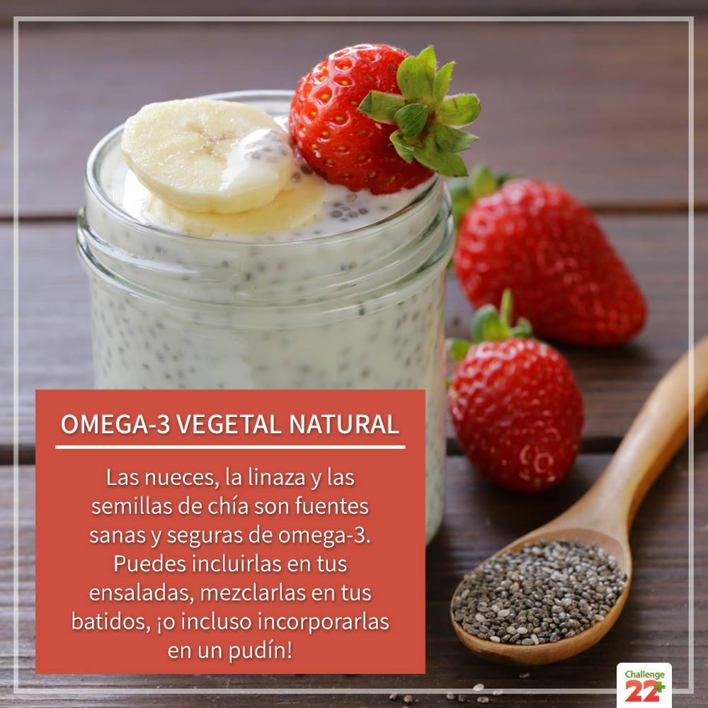Omega-3 vegetal natural