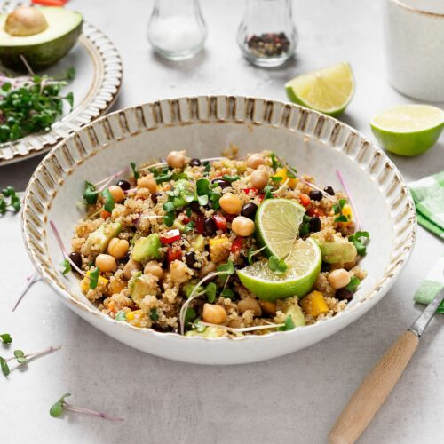 Quinoa and Tofu Salad