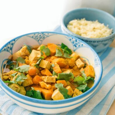 Indian Pea, Vegetable and Cashew Curry