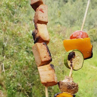 tofu kabab. image by Ira Mak