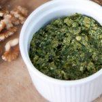 vegan green pea pesto
