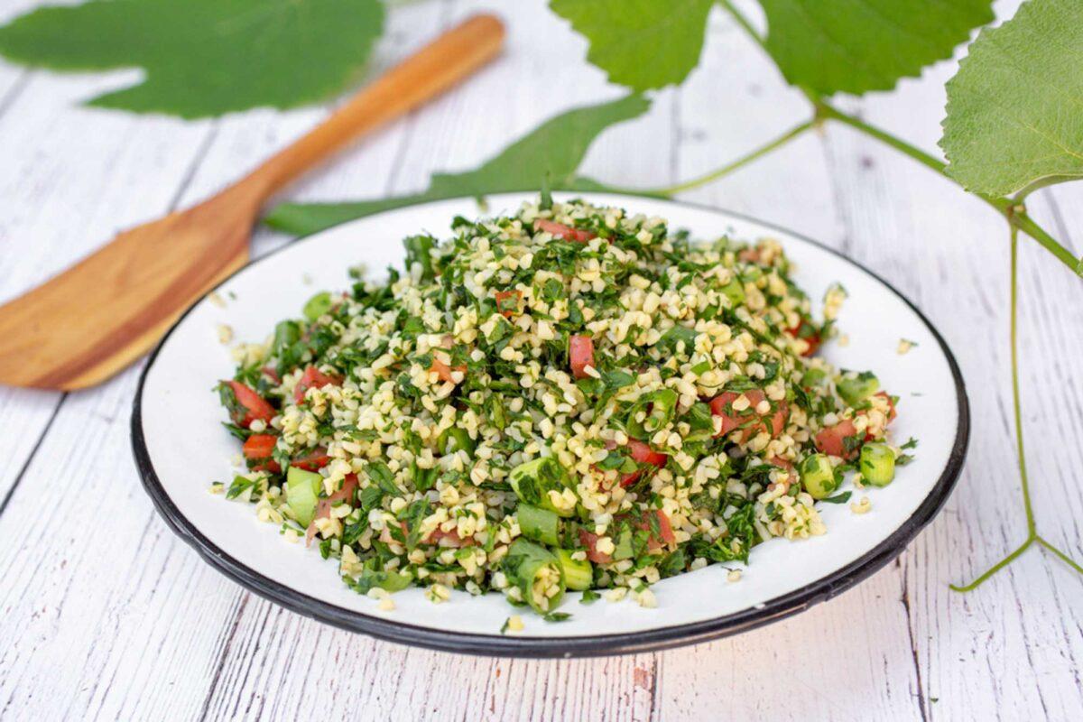 Tabbouleh Salad - Photo by Alona Lahav