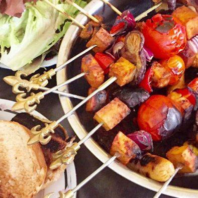 vegan BBQ. image by ginatshe